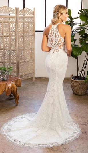 RI Wedding Dress Shop, Bridal Shops in RI, RI Bridal Shop, Halter top wedding dress, lace wedding dress, wedding dress