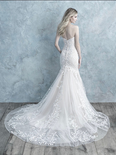 Plus Size Fit And Flare Wedding Dress