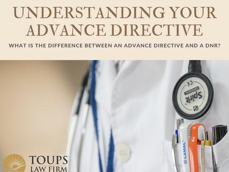 Understanding Your Advance Directive
