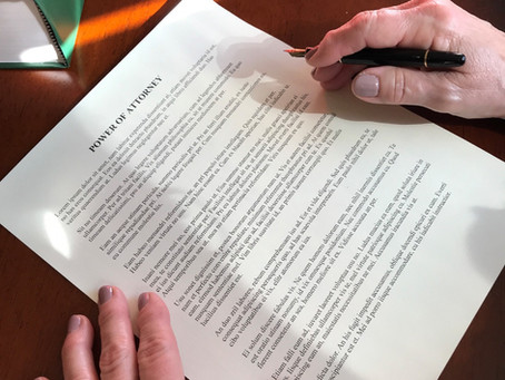 Why Texas Has Two Powers of Attorney