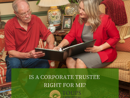 Is a Corporate Trustee Right for Me?