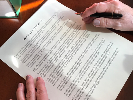 I Have Signed My Estate Planning Documents, Now What?