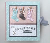 calendrier de l'avent,chaussettes,en attendant noël,tons pastels,ruban chevrons blanc et gris 1.jpg