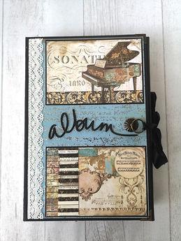 album,scrap,photos,triptyque,musique,classique,piano