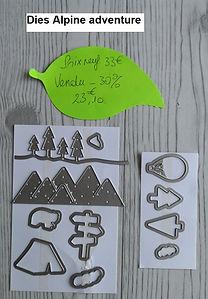 stampin up,alpine adventure,dies,framelits,poinçons thinlits