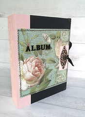 album,scrap,photos,stamperia,azulejos,sueno,fleurs,papillons,faïences,portugal,lisbonne,perles,strass,ruban