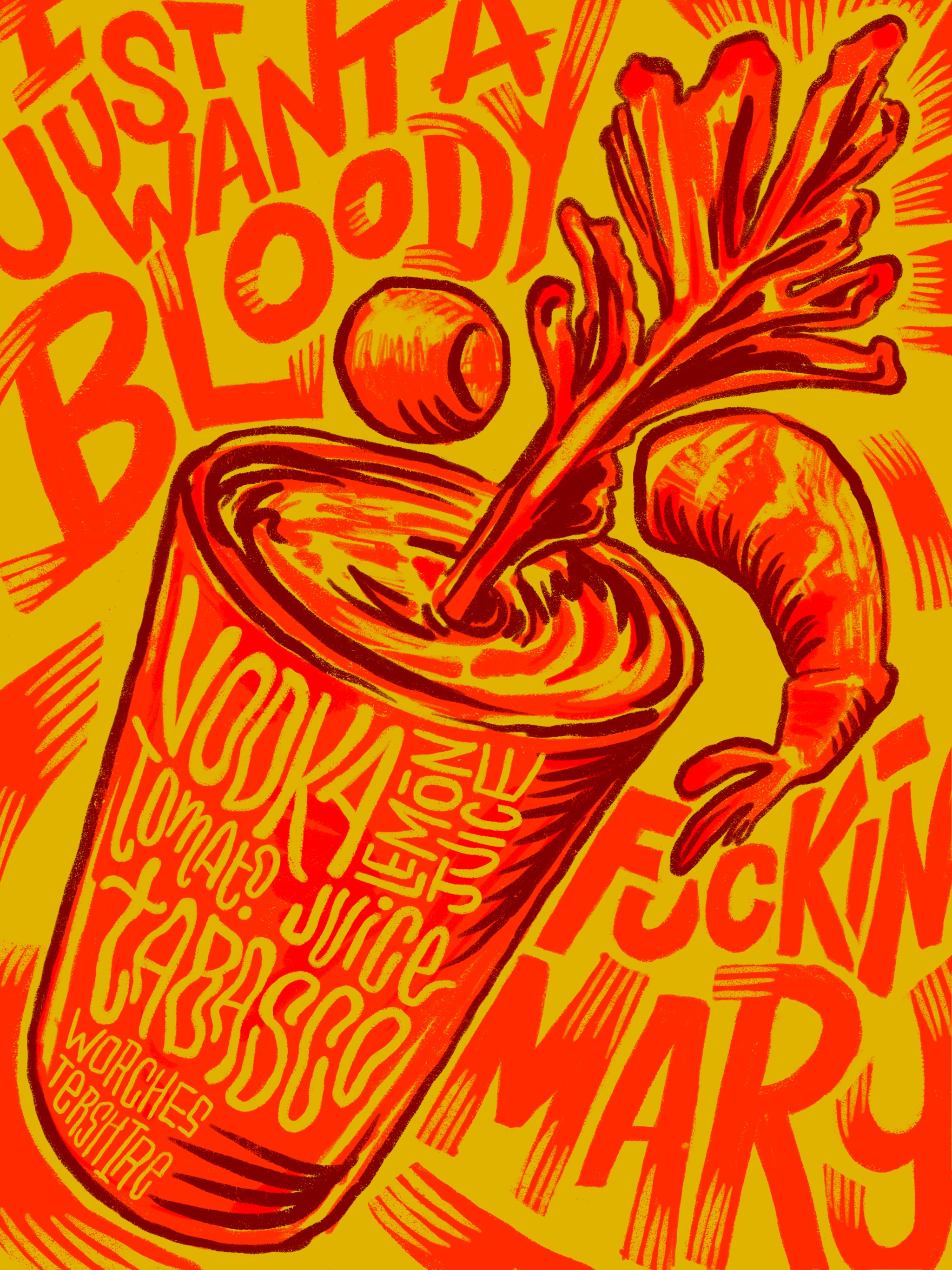 Lettered Libations: Bloody Mary