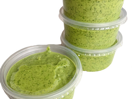 Fresh pesto genovese now in our assortment!