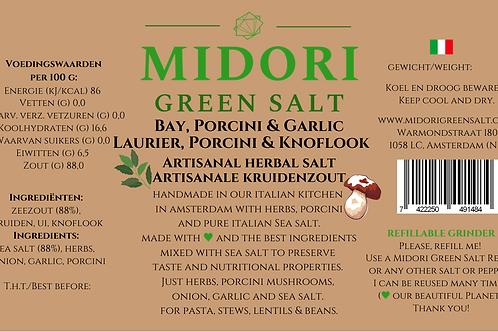 """GRINDER """"Bay, Porcini & Garlic"""" 85 gr."""