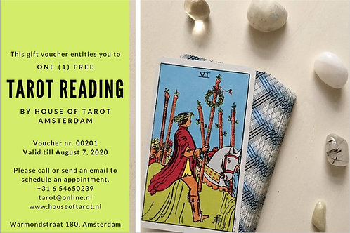 Voucher for 1 Tarot & Numerology reading