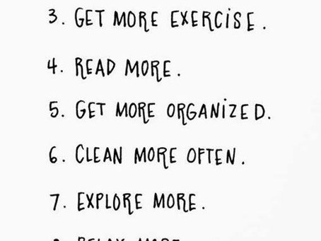 """My """"To Do"""" list for 2016 :)"""