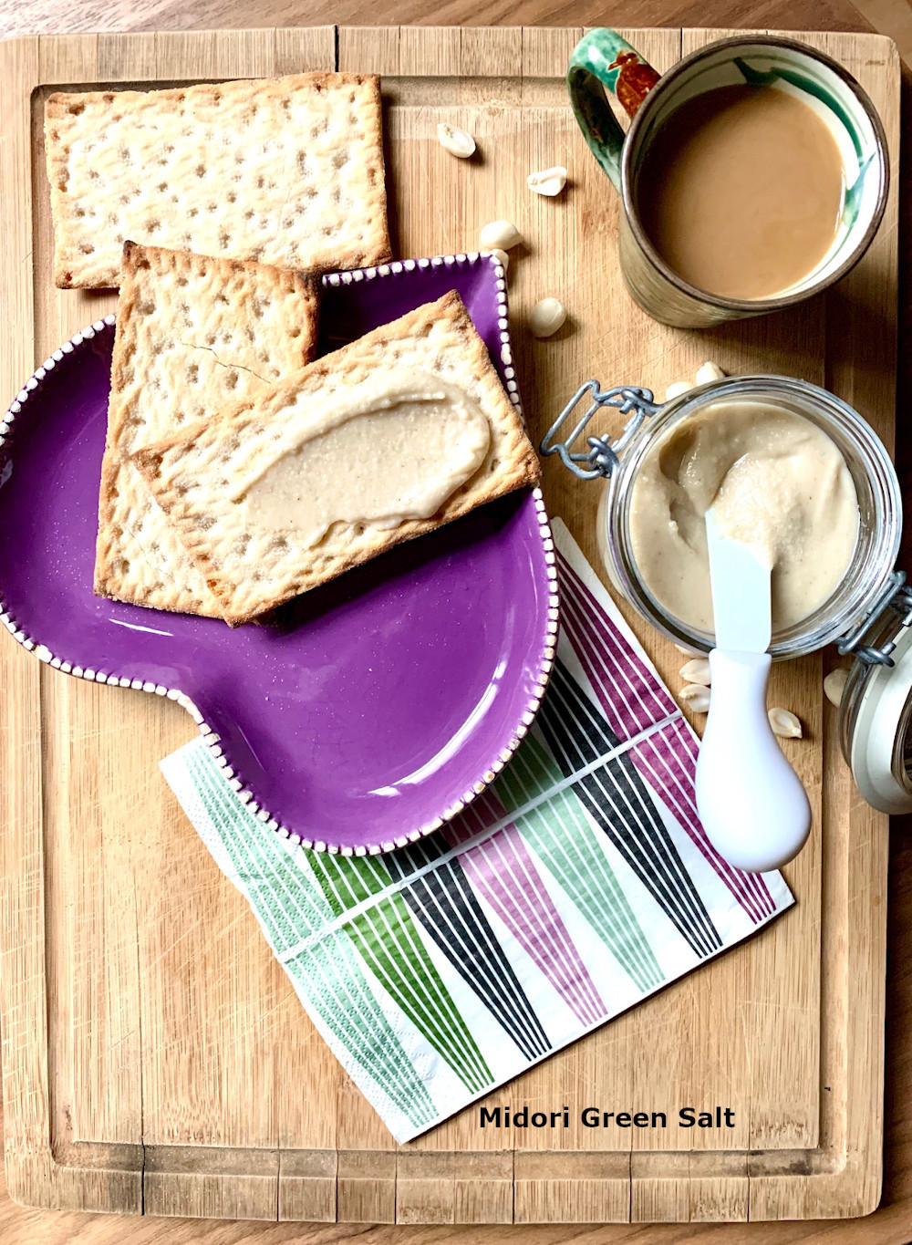 Home-made 10-minute peanut butter
