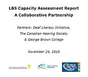 Deaf LBS Capacity cover image