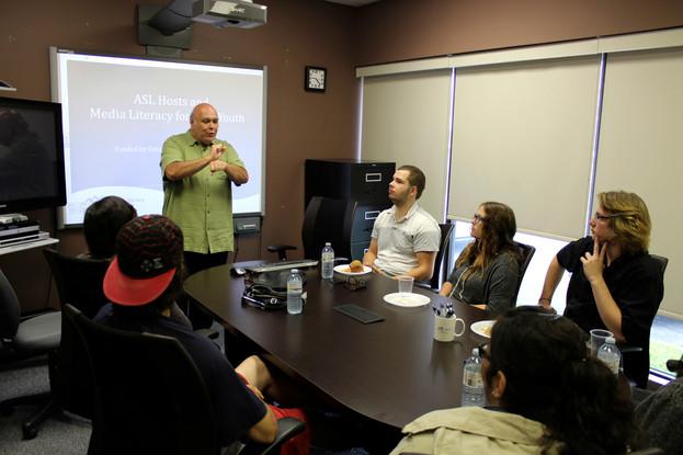 ASL Host Youth Workshop