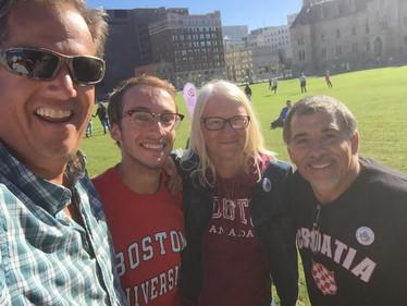Chris, Justin, Lori and Denis