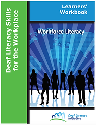Cover image of Deaf Literacy Skills for the Workplace - Learner's Workbook