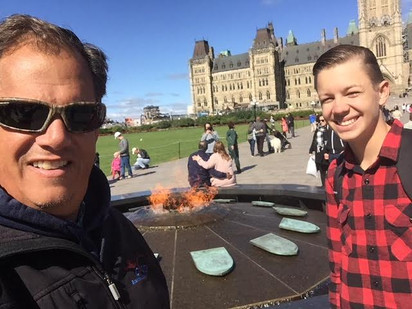Chris and Brandon at flame
