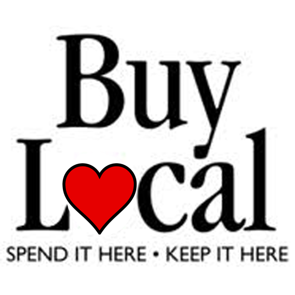 Buy Local heart