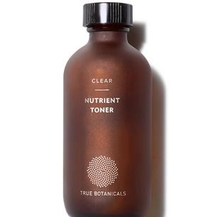 True Botanicals - Organic CLEAR Nutrient Face Toner | Clean, Non-Toxic, Natural Skincare (4 fl oz | 120 ml)
