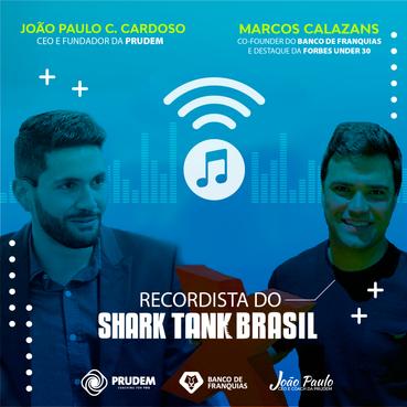 Quem é o recordista do Shark Tank Brasil? E como ele foi parar no Under 30 da Forbes?