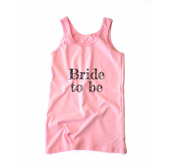 Pink Bride to be Tank Top