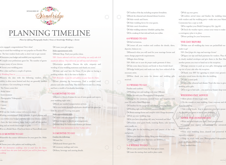 FREE Timeline Checklist