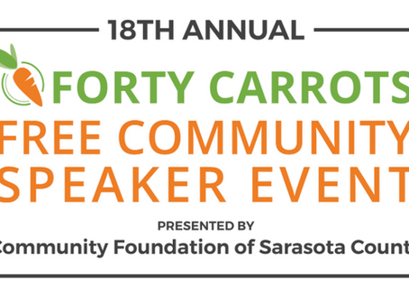 18th Annual Forty Carrots FREE Community Speaker Event