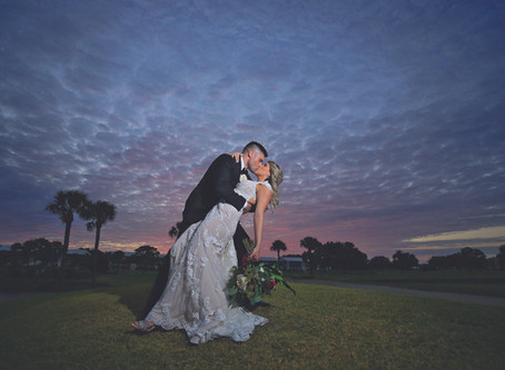 Romantic Ballroom Wedding at Plantation Golf & Country Club