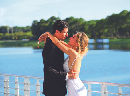 Dreamy Waterfront Spring Wedding