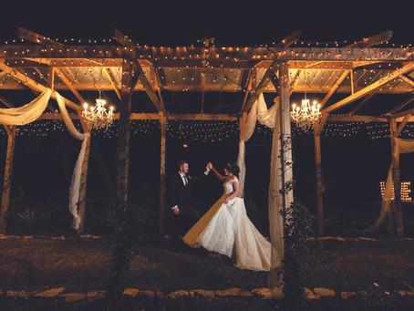 REAL WEDDING: Rustic Winter Wonderland