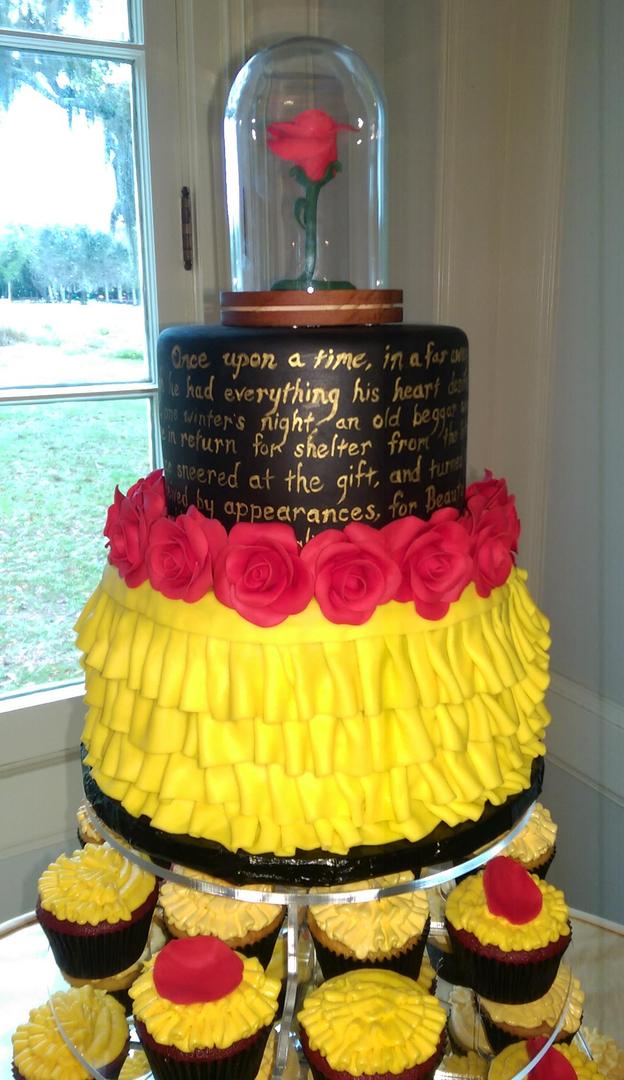 Black Market Wedding Cake- Port Charlotte, Florida