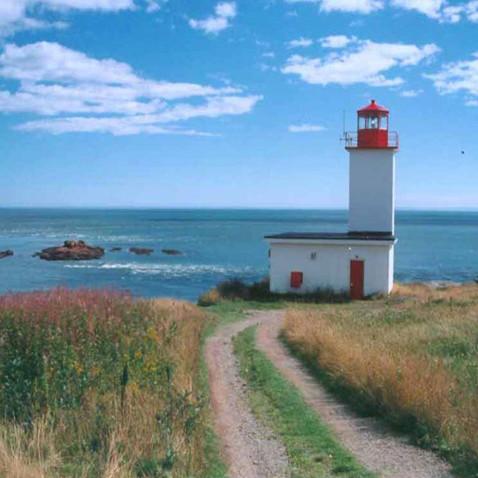 Lighthouse at Quaco Head