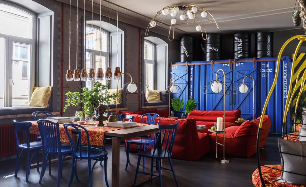 Дизайн апартаменты в Санкт-Петербурге