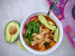 Sweet Potato and Kale Tortilla Soup