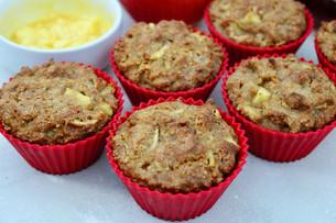 Gluten-Free Apple Honey Muffins