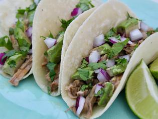 Instant Pot Pork Al Pastor Tacos