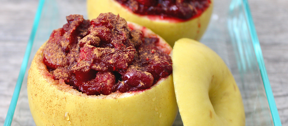 Cranberry Stuffed Baked Apples