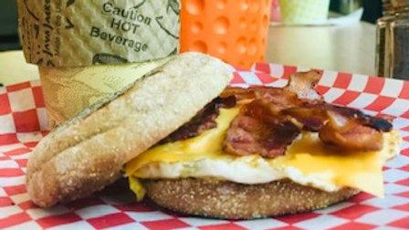 Bacon Egg Cheese English Muffin