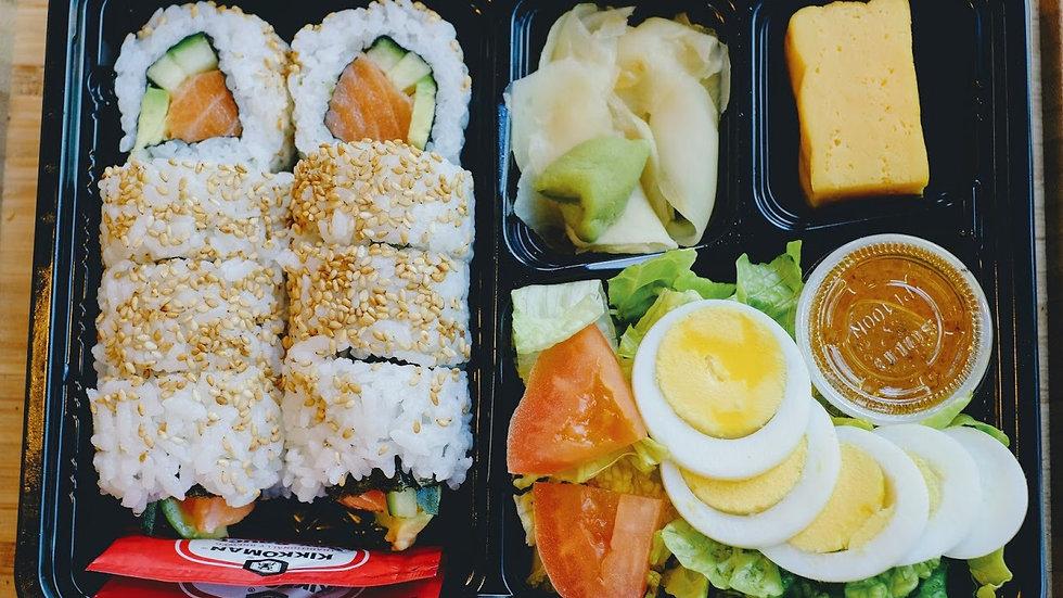 Salmon Roll lunchbox