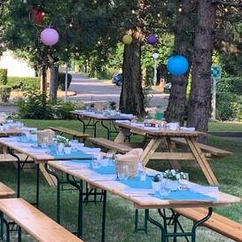 Barbecue d'été pour l'entreprise NOVAIR