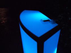 06-BlueRectangularPartyRentalTable