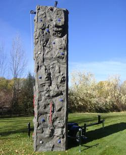 rock wall rental