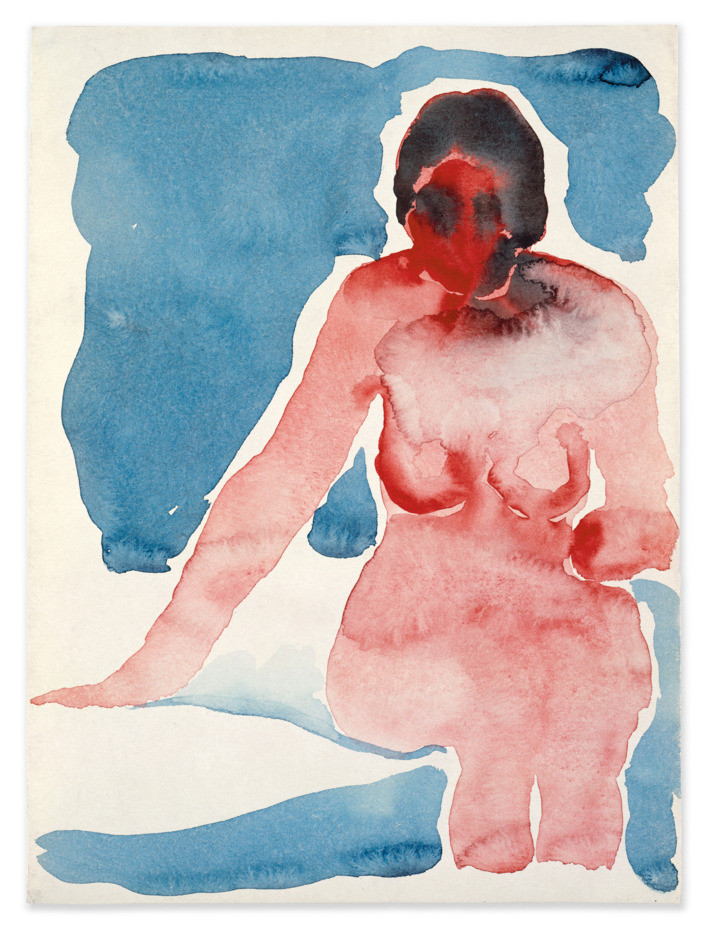 Seated Nude , (1917)
