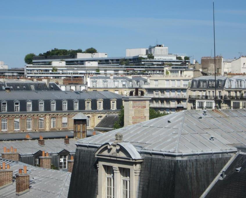 Paris Eme-window view