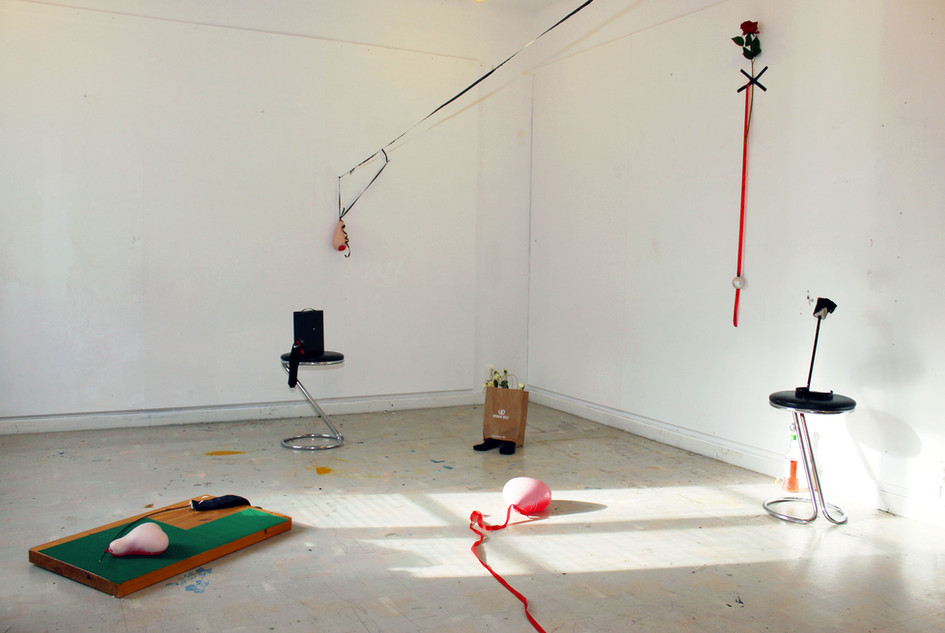 studio installation view