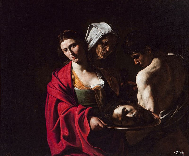 Salome with the Head of John the Baptist 1609