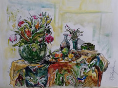 Capriccio (still life with flowers)