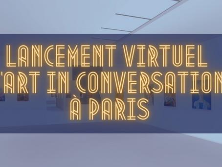 Ouvrez votre cœur et rejoignez-nous au lancement du projet « Art In Conversation » à Paris