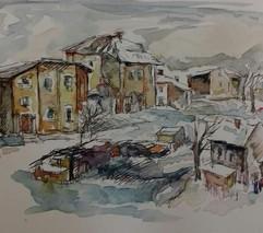 Capriccio (winter landscape)