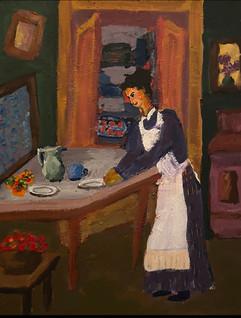 LIANA BRINZAS, In the kitchen, 2021